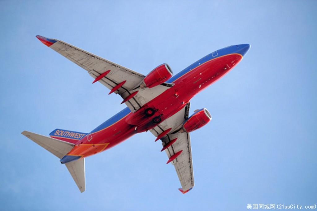 西南航开辟新航线  奥克兰直飞全美多个城市