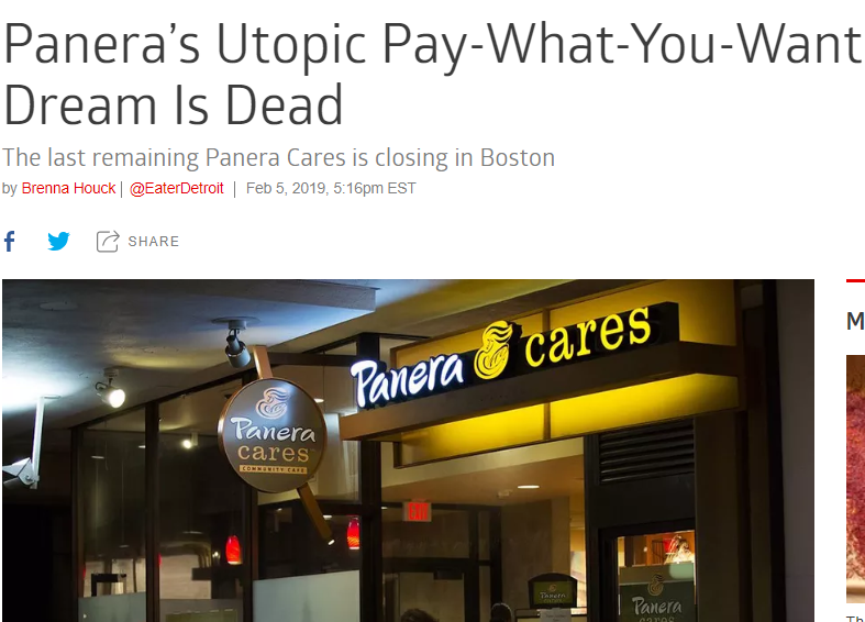 """爱付多少付多少!这家""""考验人性""""的慈善餐厅,坚持了九年,最后还是倒下了..."""